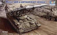 Советская противовоздушная установка SAM-6 (ЗРК Куб)
