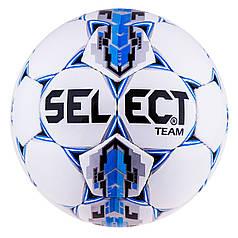 Мяч футбол Select №4 Team Duxon   Sky/Silver