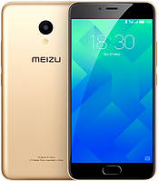 """Смартфон Meizu M5 16GB Gold золото (2SIM) 5"""" 2/16GB 5/13Мп 3G 4G оригинал Гарантия!"""
