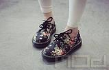 Ботинки с цветочным принтом, фото 4