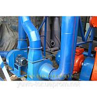 Линия для изготовления пеллет из лузги подсолнечника и отходов зерновых на базе пресс-гранулятора ОГМ-1,5