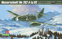 Сборная пластиковая модель самолета Me 262 A-1a/U3