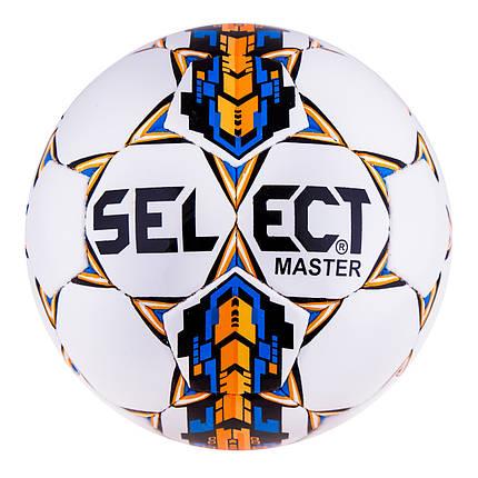 Мяч футзал Select Super Duxon Orange/Blue, фото 2