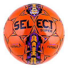 Мяч футзал Select Super Duxon Orange/Purple
