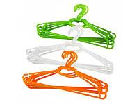 Набор вешалок для одежды 44,5 х 20 см - 5 шт.