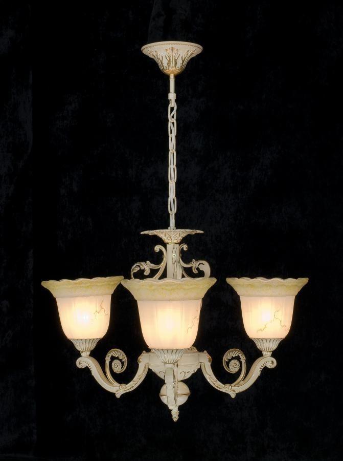 Люстра подвесная 3 лампы AR-003665 классика