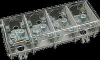 Клеммная колодка 95mm2x4P 630V для главных линий передач с крышкой (HSV95K)