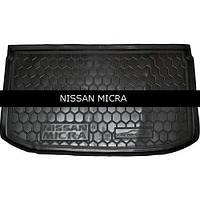 Коврик в багажник Avto Gumm для Nissan Micra 2013-