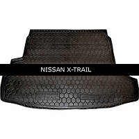 Коврик в багажник Avto Gumm для Nissan X-Trail T31 2007- с органайзер.