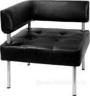 Офисный диван из кожа заменителя Тетра (680*680 h730) угловой