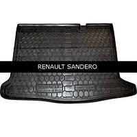 Коврик в багажник Avto Gumm для Renault Sandero 2013-
