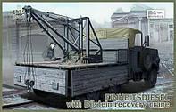 Фронтовой грузовик Einheitsdiesel с краном Bilstein