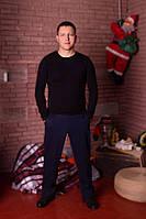 Джемпер чоловічий чорний з модалу, фото 1