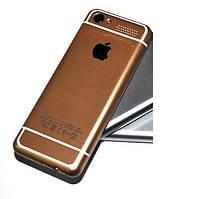 Кнопочный мобильный телефон iPhone i6S (2SIM) 0,3МП gold золото Гарантия!