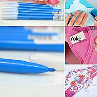 Маркер для ткани смывающийся Yoke (голубой цвет)