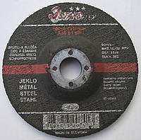 Абразивный шлифовальный мини круг, зачистной диск 3STARS FLEX 100x6.4x16 SWATY COMET