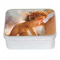 Мыло подарочное в жестяной упаковке Ангел А Роза  (LeBlanc France) 100гр