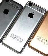 Кнопочный мобильный телефон iPhone i6S (2SIM) 0,3МП white белый Гарантия!