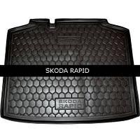 Коврик в багажник Avto Gumm для Skoda Rapid Spaceback
