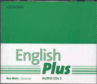 Аудио диски English Plus 3 Class Audio CDs (First Edition)