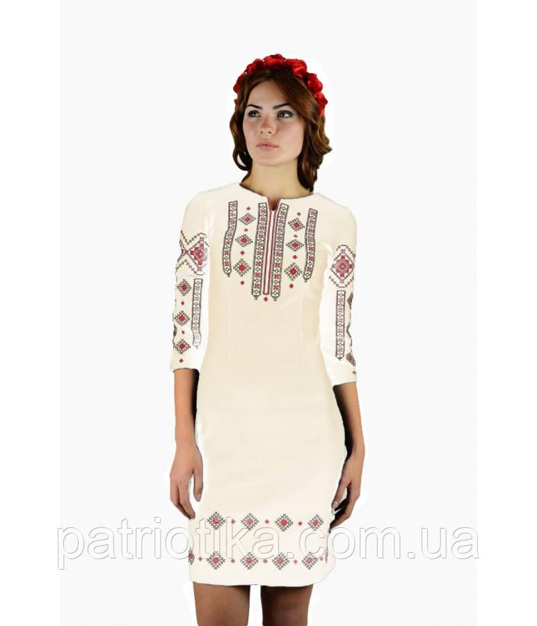 Вышитое платье М-1033-7 | Вишите плаття М-1033-7