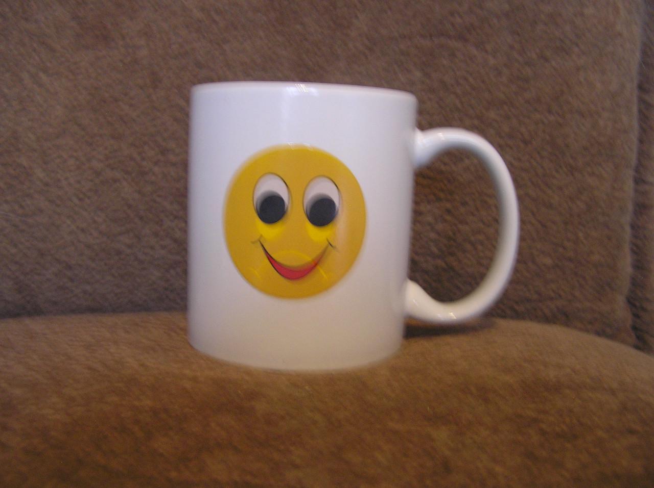 Кружка-чашка хамелеон Смайлик 3