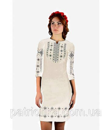 Вышитое платье М-1033-6 | Вишите плаття М-1033-6, фото 2