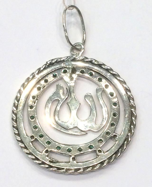 Мусульманский кулон Аллах