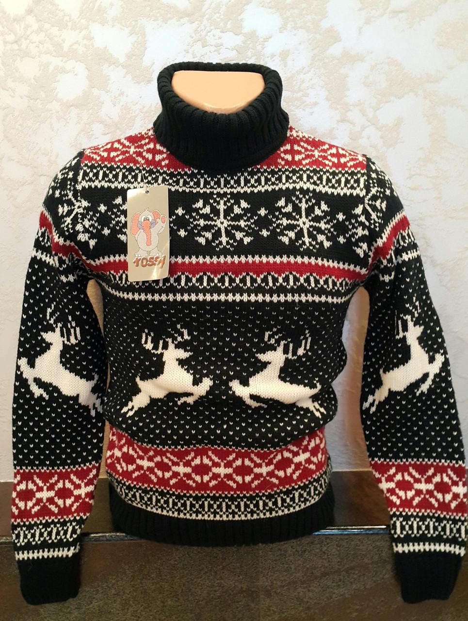 dc686f07708 Детский свитер с оленями для мальчиков 116