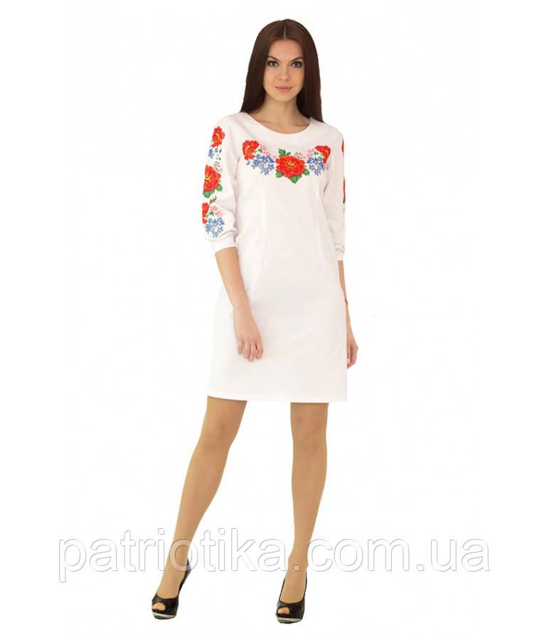 Вышитое платье М-1027-1 | Вишите плаття М-1027-1