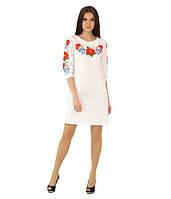 Вышитое платье М-1027-1 | Вишите плаття М-1027-1, фото 1