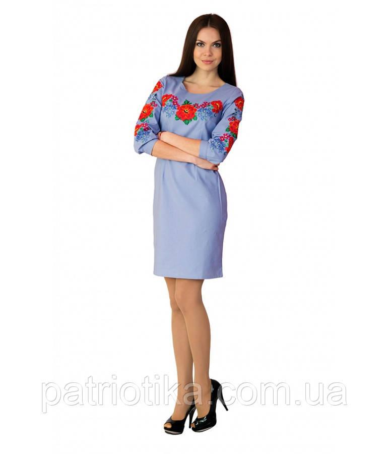 Вышитое платье М-1027-3 | Вишите плаття М-1027-3