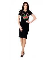Вышитое платье М-1042   Вишите плаття М-1042, фото 3