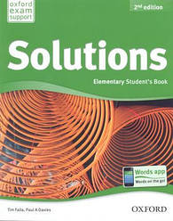 Solutions Elementary 2nd Edition Student's Book