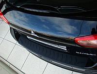 Пластиковая защитная накладка заднего бампера для Mitsubishi Lancer Sportback X 2008> заказ. № N-13