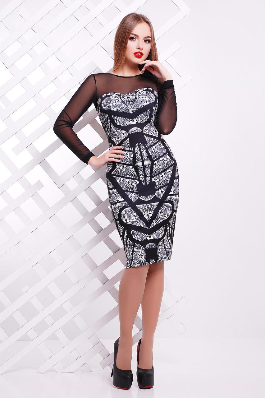5b227d721d3 Кружево черное платье Донна2 д р