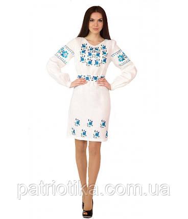 Вышитое платье М-1034-3 | Вишите плаття М-1034-3, фото 2