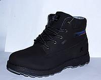 Зимние ботинки из натурального нуббука, есть 43-44 размеры. Restime оригинал, фото 1