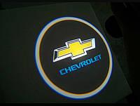 Лазерная проекция логотипа—CHEVROLET/