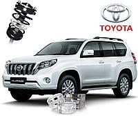 Автобаферы ТТС для Toyota Land Cruiser / Prado (2 штуки)