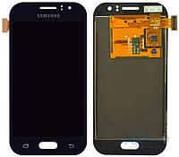 Дисплей (экран) для телефона Samsung Galaxy J1 Ace Duos J110H, Dual Sim, J110G, J110L, J110M + Touchscreen Original Dark Blue