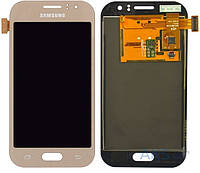 Дисплей (экран) для телефона Samsung Galaxy J1 Ace Duos J110H, Dual Sim, J110G, J110L, J110M + Touchscreen Gold