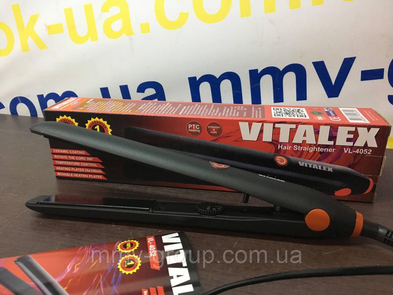 Выпрямитель для волос черный VT-4052
