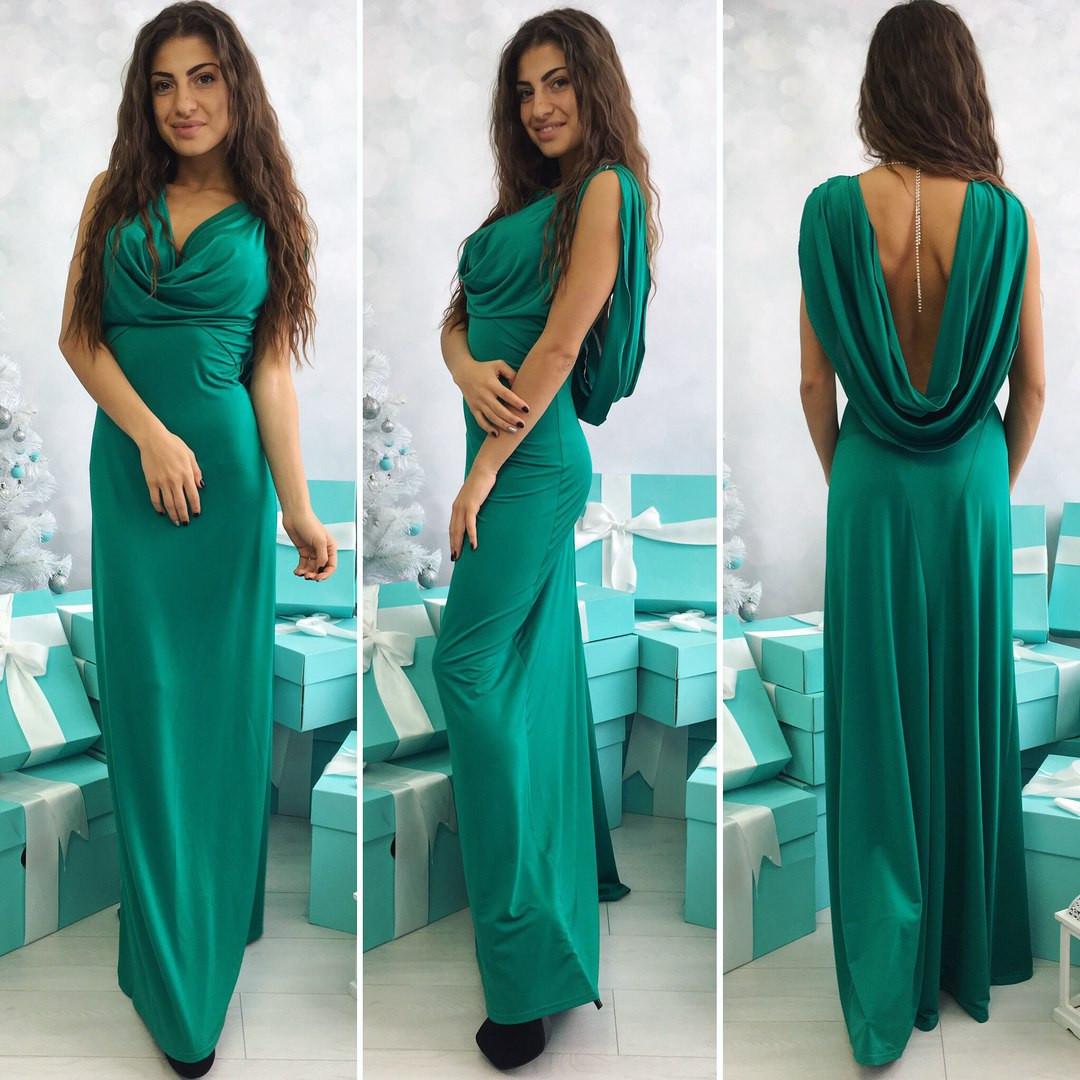 Стильное вечернее платье женское