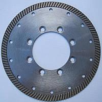 Алмазный диск cеребристый под фланец для  резки гранита Turbo 180x2,4/1,5x10x70