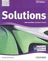 Учебник по английскому языку Solutions Intermediate 2nd Edition Student's Book