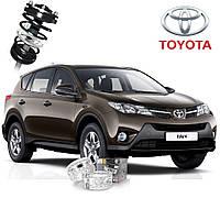 Автобаферы ТТС для Toyota RAV4 (2 штуки)