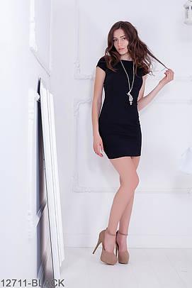 Літнє чорне плаття-міні Hens (S-XXL)