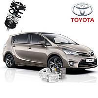 Автобаферы ТТС для Toyota Venza (2 штуки)