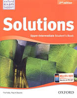 Учебник по английскому языку Solutions Upper-Intermediate 2nd Edition Student's Book